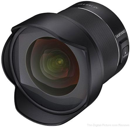 Samyang AF 14mm f/2.8 EF Lens