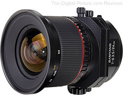 Samyang T-S 24mm F/3.5 ED AS UMC Tilt-Shift Lens Availalbe for Preorder