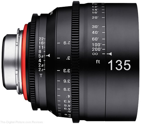 Samyang XEEN 135mm T2.2 Cinema Lens