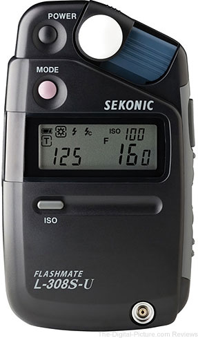 Sekonic L-308S-U Flashmate Light Meter - $174.00 Shipped (Compare at $199.00)