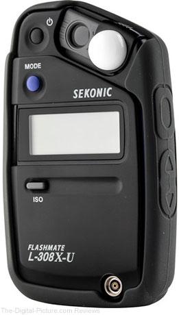 Sekonic L-308X-U Flashmate Digital Light Meter