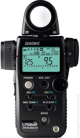 Used Sekonic L-758DR DigitalMaster Flash Meter (9+) - $469.95 Shipped (Compare at $599.00)