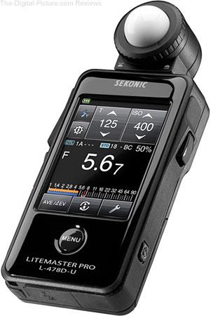 Sekonic LiteMaster Pro L-478D-U Light Meter - $299.00 Shipped (Reg. $339.00)