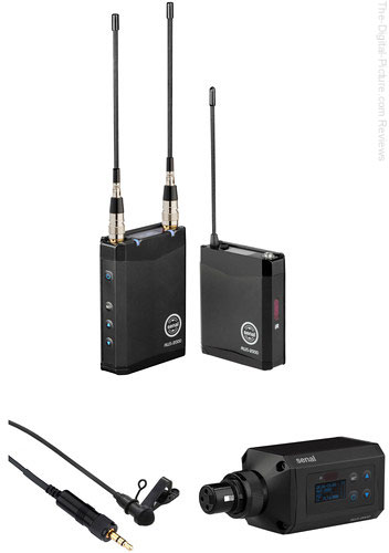 Senal AWS-2000 Camera-Mount Wireless Combo Microphone System Kit (A: 522 to 554 MHz)
