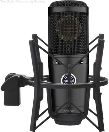 Senal SCM-600 Large-Diaphragm Cardioid Condenser Microphone - $89.00 Shipped (Reg. $149.00)