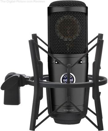 Senal SCM-600 Large-Diaphragm Cardioid Condenser Microphone - $89.00 Shipped (Reg. $149.00)