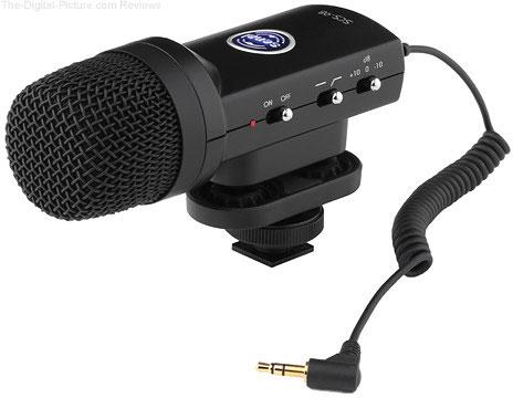 Senal SCS-98 DSLR/Video Stereo Microphone - $84.95 Shipped (Reg. $184.95)