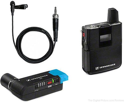 Sennheiser AVX Camera-Mountable Lavalier Digital Wireless Set (ME2-II Lavalier) - $399.95 Shipped (Reg. $699.95)