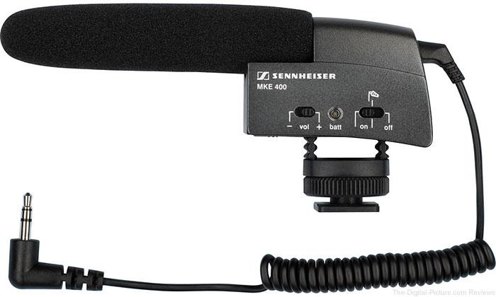 Sennheiser MKE 400 Camera-Mount Shotgun Microphone