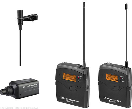 Sennheiser ew 100 ENG G3 Wireless Microphone Combo System - A (516-558 MHz) - $549.00 Shipped (Reg. $799.00)