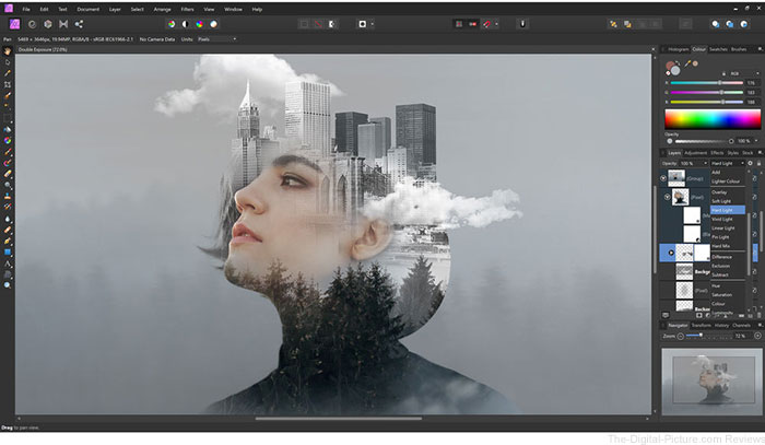 Serif Affinity Photo Image Editing Software