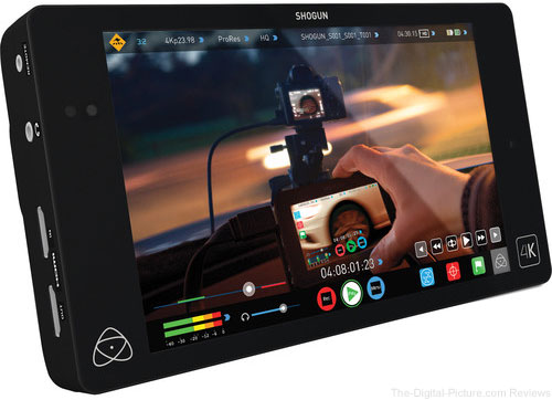 Atomos Shogun 4K HDMI/12G-SDI Recorder and 7""