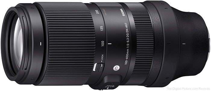 Sigma 100-400mm F5-6.3 DG DN OS Contemporary Telephoto Lens