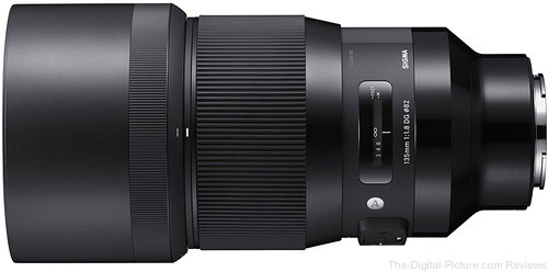 Sigma 135mm f/1.8 DG HSM Art Lens for Sony E