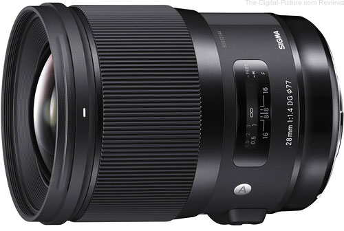 Sigma Announces Release of 28mm F1.4 DG HSM | Art