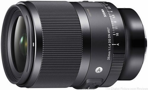 Just Announced: Sigma 35mm F1.4 DG DN Art Lens