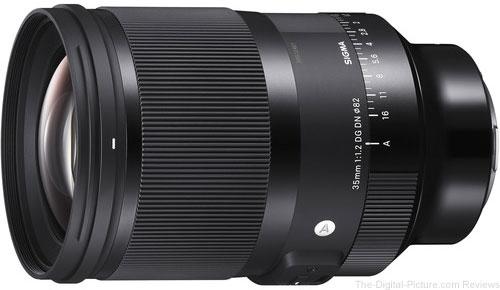 Sigma 35mm f 1.2 DG DN Art Lens