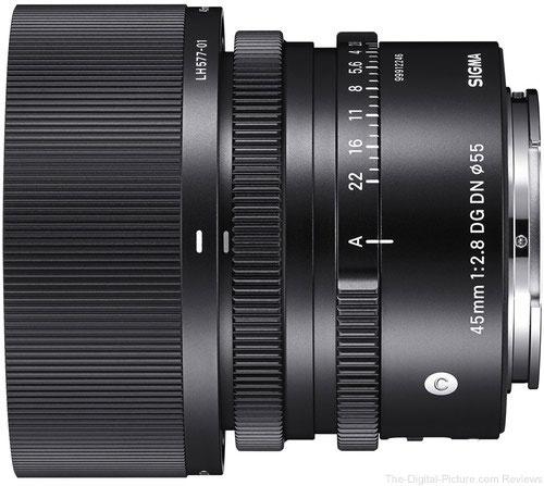Sigma 45mm f/2.8 DG DN Contemporary Lens for Sony E-Mount