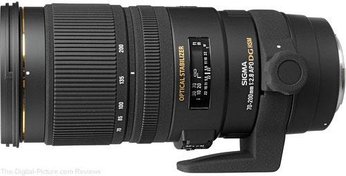 Sigma 70-200mm f/2.8 EX DG APO OS HSM Lens for Canon/Nikon
