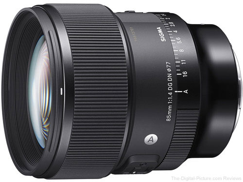 Just Announced: Sigma 85mm f/1.4 DG DN Art Lens for Sony E and Leica L