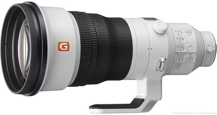 Sony 400mm f/2.8 GM OSS Lens