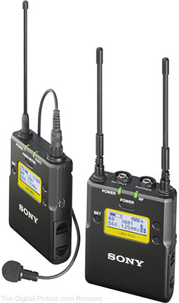 Sony UWP-D11 Integrated Digital Wireless Bodypack Lavalier Microphone System - $399.99 Shipped (Reg. $599.99)