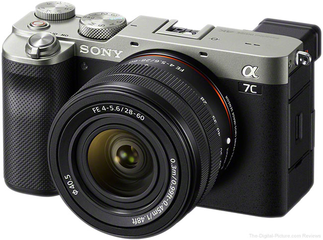 Announced: Sony Alpha 7C and FE 28-60mm Lens