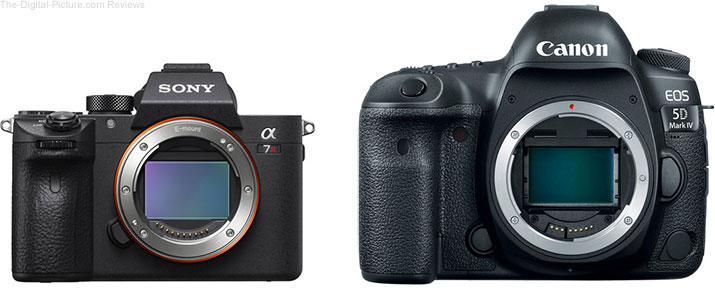 Get the Sony a9/a7R III or Canon 5D IV/6D II at Their Lowest MSRPs Ever