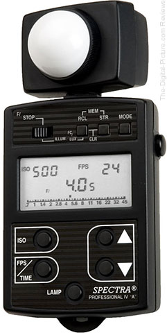 Spectra Cine Professional IV-A Digital Exposure Meter