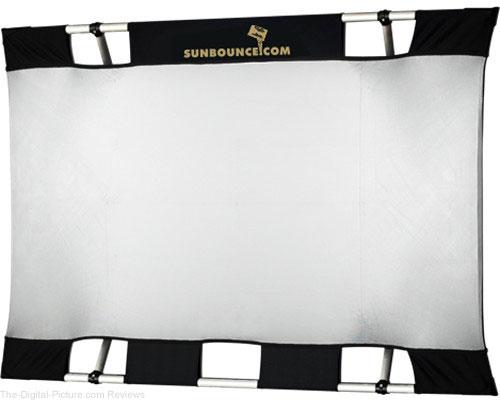Sunbounce Mini Sun-Bounce Kit - Silver/White Screen (3x4')