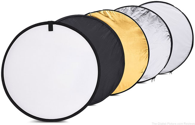 TOMTOP 24-Inch 60cm 5 in 1 Collapsible Reflector - $7.49 (Reg. $19.99)