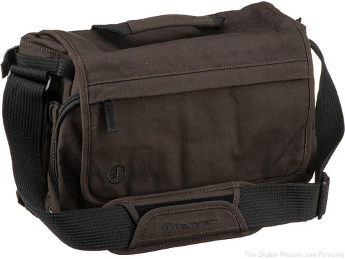 Tamrac Apache 6.2 Series Camera Bag (Waxed Canvas, Chocolate Brown)