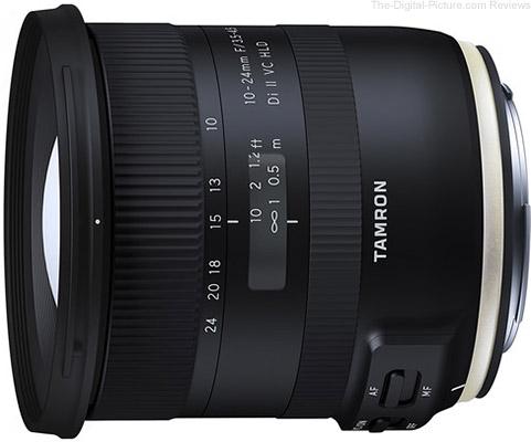 Tamron Announces 10-24mm F/3.5-4.5 Di II VC HLD