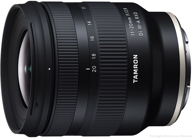 Just Announced: Tamron 11-20mm F/2.8 Di III-A RXD Lens