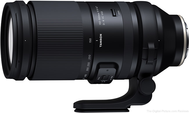 Just Announced: Tamron 150-500mm F/5-6.7 Di III VC VXD Lens