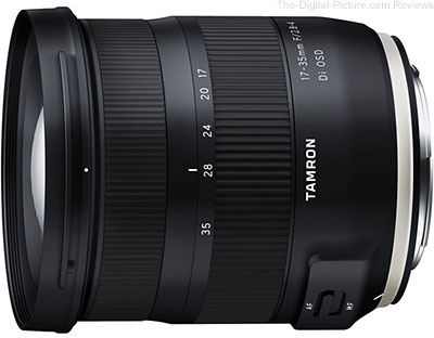 Tamron Announces Launch of the 17-35mm f/2.8-4 Di OSD for Canon
