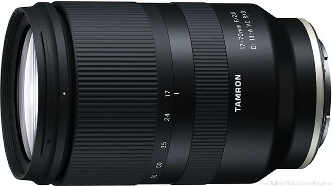 Tamron 17-70mm F/2.8 Di III-A2 VC RXD (Model B070) Lens