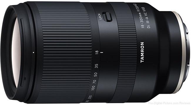 Tamron 18-300mm F/3.5-6.3 Di III-A VC VXD Lens (Model B061)