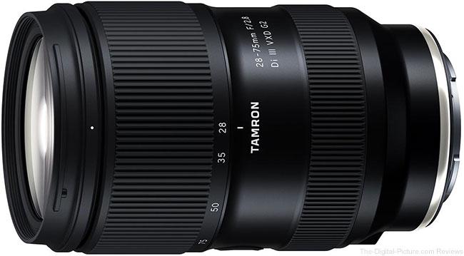 Tamron 28-75mm F/2.8 Di III VXD G2 Lens