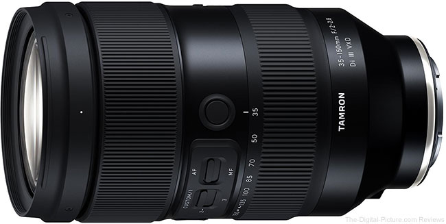 Tamron 35-150mm F/2-2.8 Di III VXD Lens