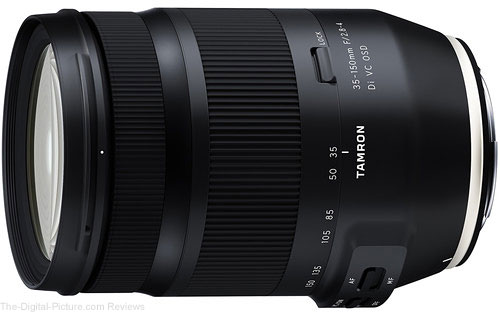 Tamron Announces its 35-150mm F/2.8-4 Di VC OSD