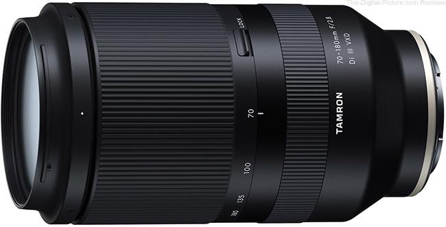 Tamron 70-180mm F/2.8 Di III VXD Lens (Model A056)