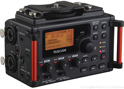 Tascam DR-60DmkII 4-Channel Portable Recorder In Stock at B&H