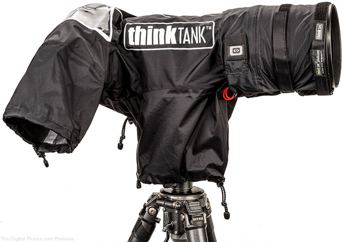 Think Tank Photo Hydrophobia Rain Cover 300-600 V2.0 (Black)