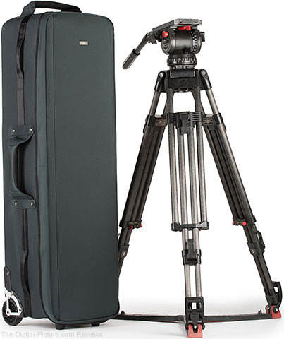 Think Tank Photo Video Tripod Manager 44 Rolling Case