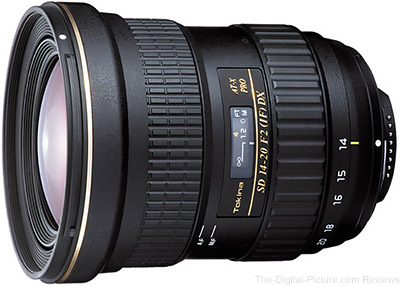 Tokina AT-X 14-20mm f/2 PRO DX Lens