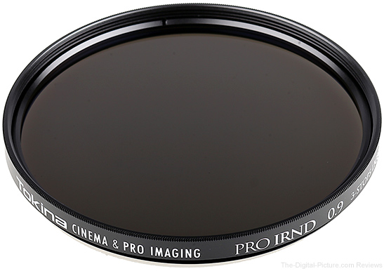Tokina Announces Cinema IRND Neutral Density Filters