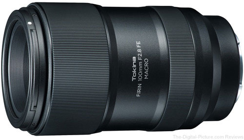 In Today's B&H Deal Zone: Tokina FiRIN 100mm f/2.8 FE Macro Lens (for Sony E) – Only $429.00 (Save $170.00), More