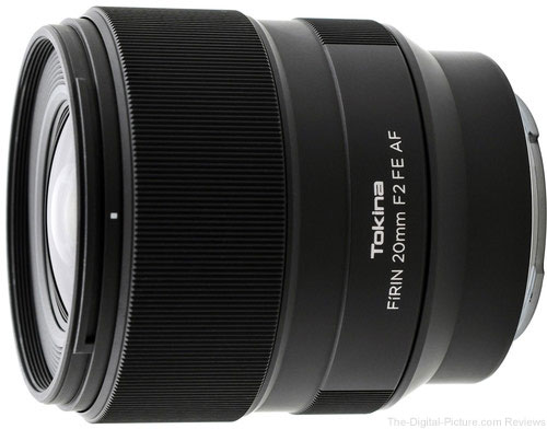 Save $370.00: Tokina FiRIN 20mm F/2.0 FE Auto Focus Lens for Sony E Series – Only $579.00 at Adorama