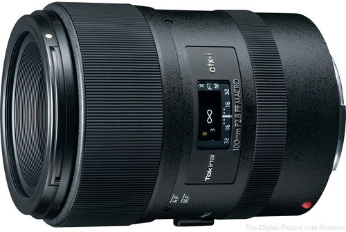 Tokina atx-i 100mm f/2.8 FF Macro Lens for Canon/Nikon